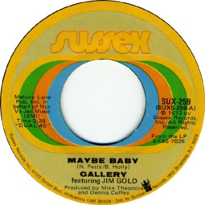 Gallery - 1973 - Maybe Baby