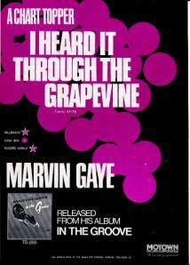 Gaye, Marvin - 1968 BB - I Heard it Through the Grapevine