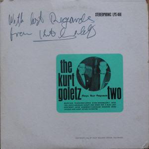 Goletz - Delft 466 - Goletz Two, Kurt - Your Requests