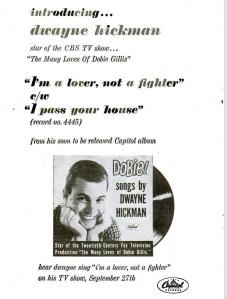 Hickman, Dwayne - 09-60 - I'm a Lover