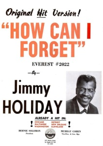 Holiday, Jimmy - 02-63 - How Can I Forget