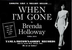 Holloway, Brenda - 04-65 - When I'm Gone