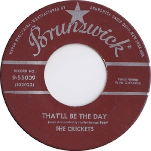 Holly 1957 08 - Thatl'll Be the Day