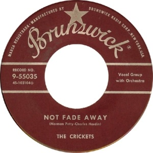 Holly 1957 10 - Not Fade Away