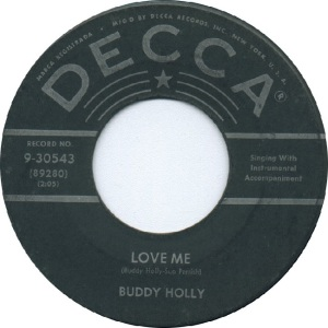 Holly 1958 01 - Love Me