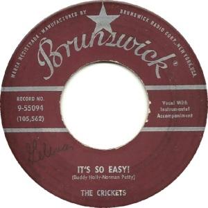 Holly 1958 09 - It's So Easy