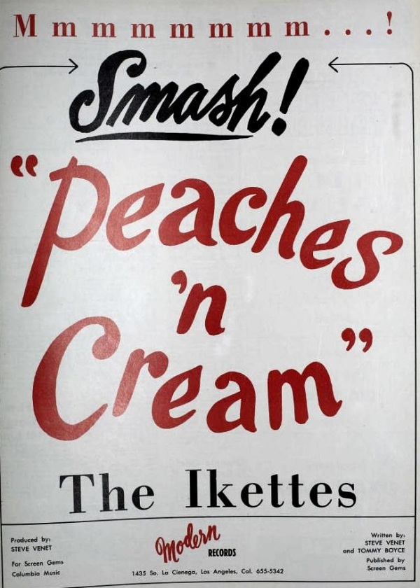 Ikettes - 03-65 - Peaches & Cream