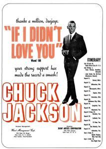 Jackson, Chuck - 08-65 - If I Didn't Love You