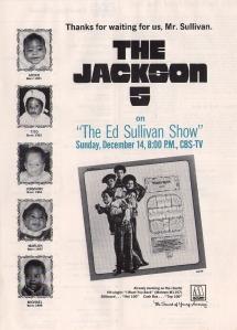 Jackson Five - 1969 CB - Ed Sullivan