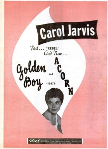 Jarvis, Carol - 12-57 - Golden Boy