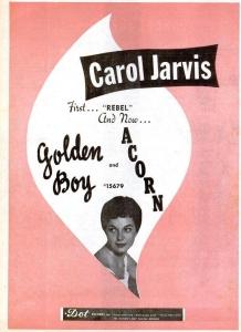 Jarvis, Carol - 12-57 - Golden Boy