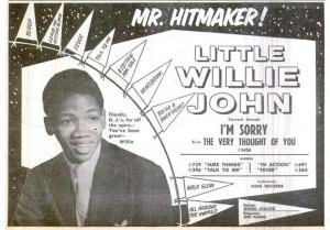 John, Little Willie -  03-61 - I'm Sorry