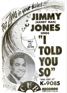 Jones, Jimmy - 02-61 - I Told You So
