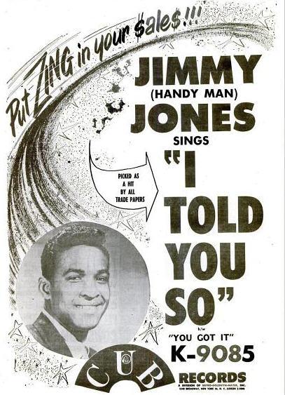Jones, Jimmy - 02-61 - I Told You So