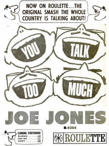 Jones, Joe - 10-60 - You Talk Too Much