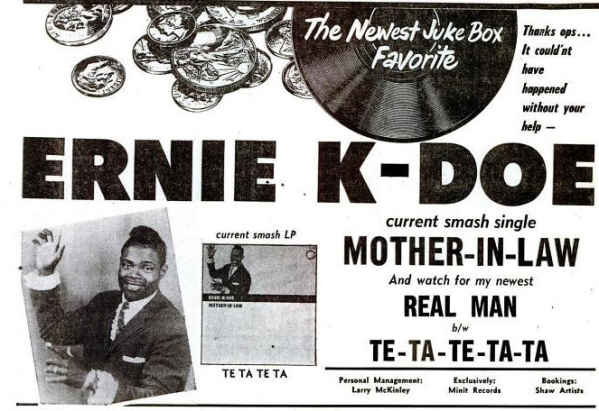 K-Doe, Ernie - 05-61 - Mother in Law