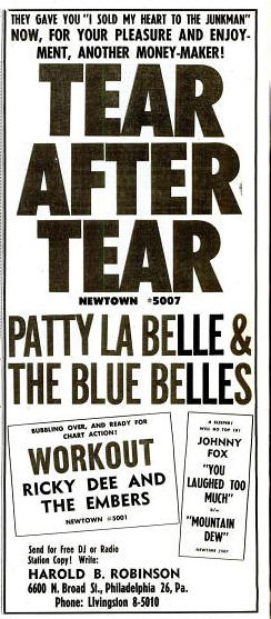 Labelle, Patty & Blue Belles - 07-62 - Tear After Tear