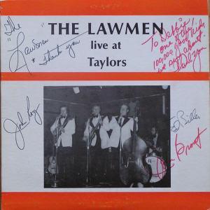 Lawmen - Cartay 5341 - Lawmen - Live at Taylors