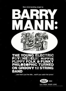 Mann, Barry - 01-68 - Psychedelic Hippy