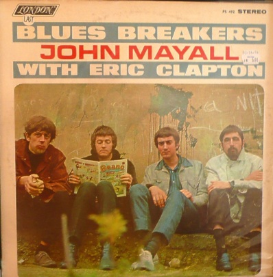 Mayall's Bluesbreakers - London - With Eric Clapton