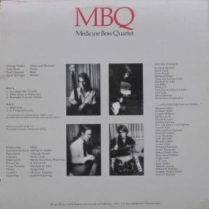 MEDICINE BOW QUARTET - MED BOW 9991 - MBQ C2