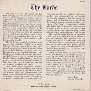 MERIDIAN 100 - BARDS - PS B