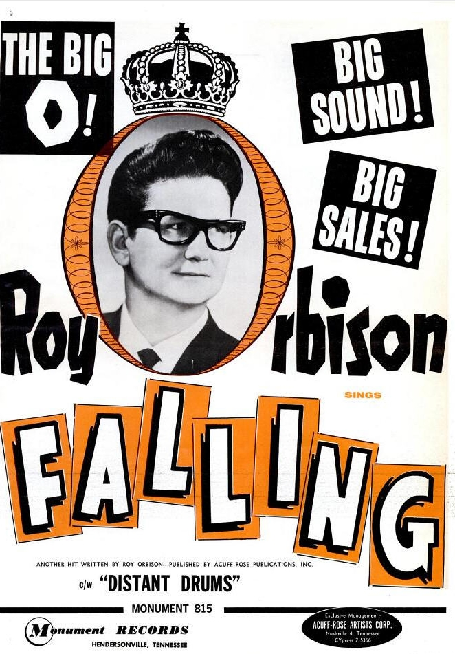 Image result for falling roy orbison 45