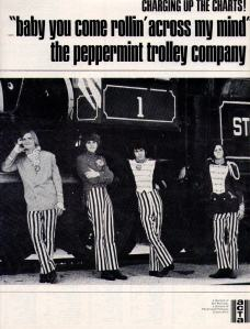 Peppermint Trolley - 1966 BB - Baby You Come Rollin
