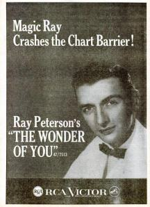 Peterson, Ray - 06-59 - The Wonder of You
