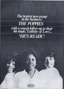 Poppies - 1966 BB - He's Ready