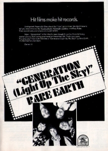 Rare Earth - 1969 BB - Generation