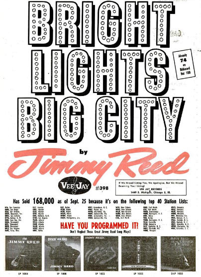 Reed, Jimmy - 10-61 - Bright Lights Big City