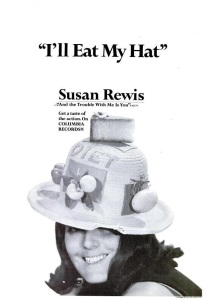 Rewis, Susan - 09-66 - I'll Eat My Hat