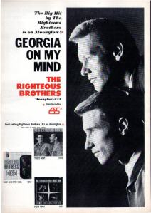 Righteous Brothers - 1966 BB - Georgia On My Mind