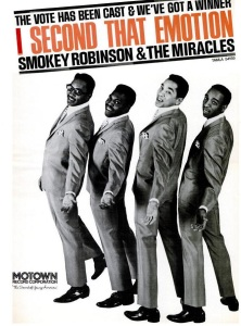 Robinson, Smokey & Miracles - 11-67 - I Second That Emotion