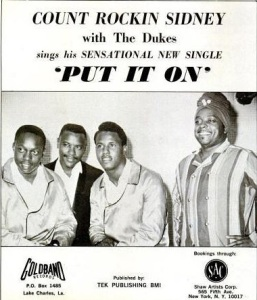 Rockin Sidney & the Counts - 05-67 - Put It On