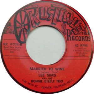 Rustique 711 - Sims, Lee - Married To Wine