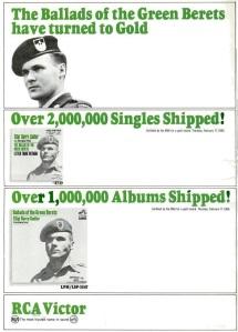 Sadler, Sgt Barry - 03-66 - Ballad of Green Berets