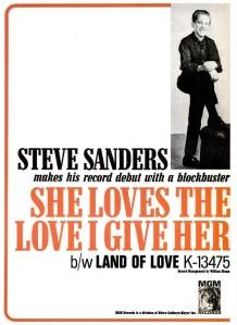 Sanders, Steve - 05-66 - She Loves the Love I Give Her