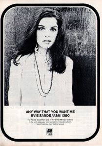 Sands, Evie - 1969 BB - Any Way That You Want Me
