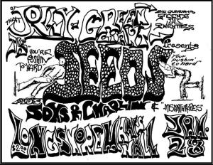 Seeds - Longshoremans Hall