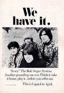Seger System, Bob 1969 BB - Ivory