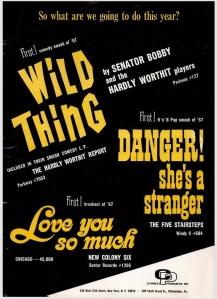 Senator Bobby - 01-67 - Wild Thing