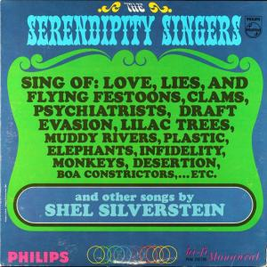 Serendipity - Philips 200-190 - Serendipity Singers - Sing of Love Lies and Flying