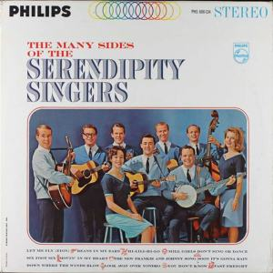 Serendipity - Philips 600-134 - Serendipity Singers - The Many Sides Of