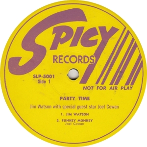 Spicy 5001 DJ - Watson & Cowan - Party Time