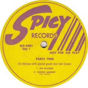 Spicy 5001 DJ - Watson & Cowan - Party Time