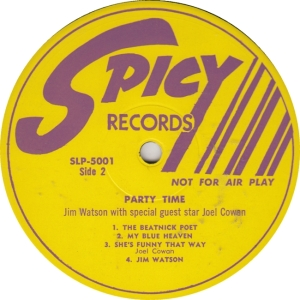 Spicy 5001 DJ2- Watson & Cowan - Party Time