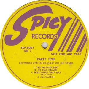 Spicy 5001 DJ2- Watson & Cowan - Party Time