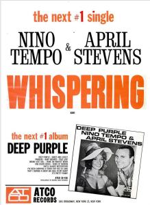 Tempo, Nino & Stevens, April - 12-63 - Whispering